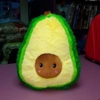 Мягкая маленькая пушистая желтая зеленая игрушка-подушка Авокадо (DM22001415KZ)