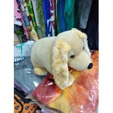 Мягкая игрушка - подушка раскладушка Собака Кокер Спаниель бежевая (DM220015KR)