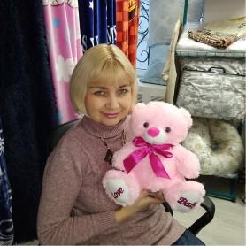 Мягкая игрушка розовый Медведь Love Baby (DM2200181KZ)