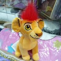 Маленькая мягкая игрушка Король Лев с красной гривой (DM2200333KZ)