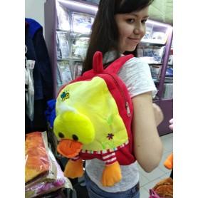 Рюкзак-игрушка для малышей мягкий желтый Утенок (DM24425-02lB)