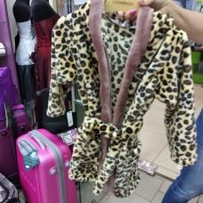 Теплый мягкий халат Леопард детский  (DM22005243IT)