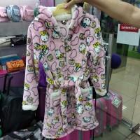 Теплый мягкий халат Китти детский розовый (DM22005245IT)