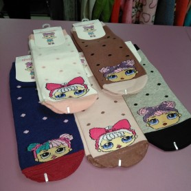 Носки детские для девочек Лол от 7 до 9 лет Фенна (DM22006511NS)