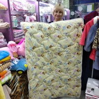 Одеяло детское шерстяное Голд 105*140 см бязь (DM2899KR)