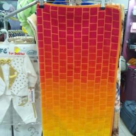 Полотенце пляж велюр хлопок Турция 3D красное (DM50901313DM)